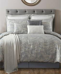 VCNY Home 10 Piece KING Comforter Set Cosmo Slate Grey L9610