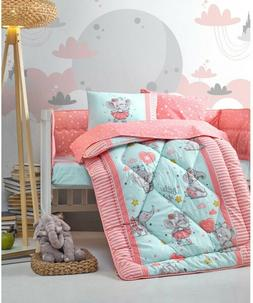 100% Cotton Princess Mermaid Bedding Quilt/Comforter Set for