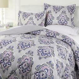 Concierge Collection 100% Polyester 3 piece Comforter Set