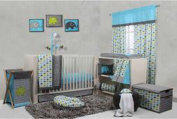 10pc Infant Crib Bed Set Baby Nursery Bedding Newborn Comfor