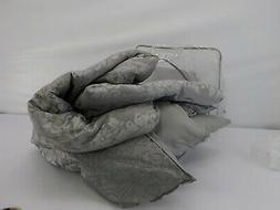 Beautyrest 16322BEDDQUEPWT Chacenay Comforter Set, Queen, Pe
