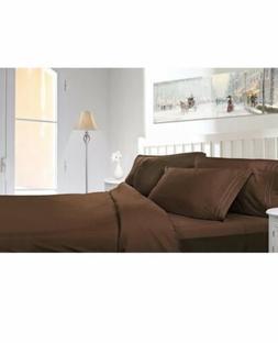 Clara Clark 1800 Premier Series 4pc Bed Sheet Set - King Whi