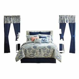 BrylaneHome 20-Pc. Printed Comforter Set