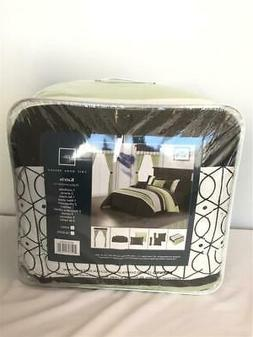 ** Chic Home 20pc Katrin Bed in A Bag Comforter Set King Gre