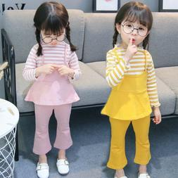 2pcs toddler baby tops pants outfits sets