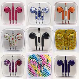 3.5mm Earbuds Earphones Headphones Headsets For iPhone and S