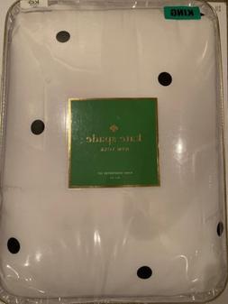 Kate Spade New York 3-PC King Deco Dot Black White Ivory Com