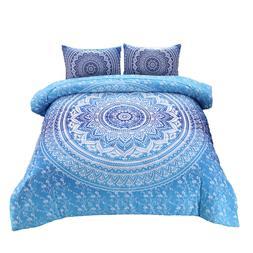 Dream Catcher Comforter Set Unicorn Animal Print Quilt Set Q