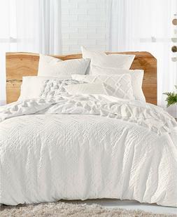 Lucky Brand 3 Piece King Comforter Set Taos Matelasse Cotton