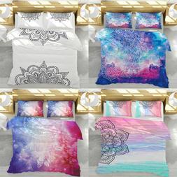 3D Bohemia Dreamcatcher Bedding Set Quilt Cover Pillowcase C