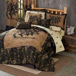 Browning 3D Buckmark 8 Pc Queen Comforter Set  SAVE BIG ON B