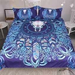 3D Dreamcatcher Bedding Set Bohemia Comforter Cover Duvet Co