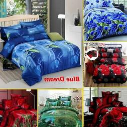 3D Print Duvet Cover Bedding Set Comforters Quilt Cover Bed