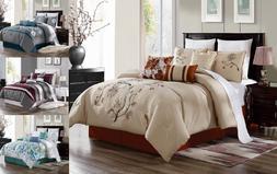 3PC SET LUXURIOUS DUVET BED COVER BEDROOM MODERN DECOR COMFO