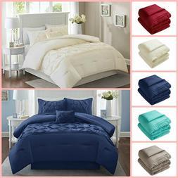 5 Piece Comforter Set Queen King Full Size Bedroom Home Bedd