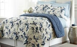 6 Piece Reversible Quilt Comforter Set Bedding Luxury Mianka