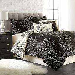 Spirit Linen Home 6pc Comforter Set Luxurious Soft Microfibe