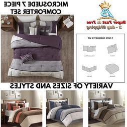 7 piece comforter set leopard cozy faux