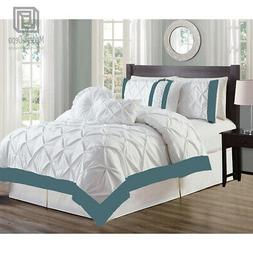 7-Piece Full Comforter Set Bed In A Bag Home Bedding, All Se