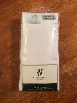 Wamsutta® 70-Inch x 84-Inch Extra Long Fabric Shower Curtai