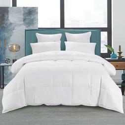 75% White Goose Down Warm Comforter Duvets Insert 600 Fill P