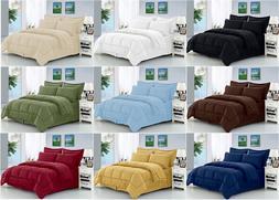 8-Piece Dobby™ Striped Comforter Set Wrinkle Resistant Sil