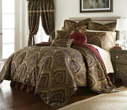 Chezmoi Collection 9-Piece Jacquard Paisley Medallion Oversi