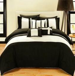 Chic Home 10-Piece Fiesta Bed-in-a-Bag Comforter Set, Queen,