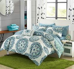 Chic Home Barcelona 8 Piece Reversible Comforter Set Microfi