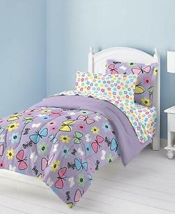 Dream Factory Sweet Butterfly Ultra Soft Microfiber Comforte