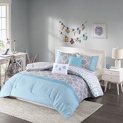 Intelligent Design - Clara -All Seasons Comforter Set -5 Pie