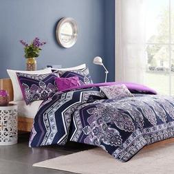 Intelligent Design Adley Comforter Set - Purple - Twin/Twin