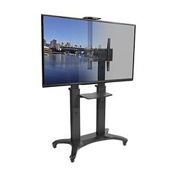 Kanto MTMA80PL Mobile TV Stand for 55-80 inch Flat Screen Di