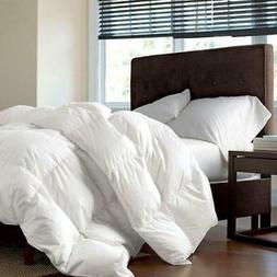 LUXURIOUS TWIN / TWIN XL Size Siberian GOOSE DOWN Comforter,