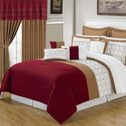 Bedford Home 66A-04703 24-Piece Room-in-a-Bag Sarah Bedroom