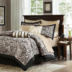 Madison Park Aubrey 12 Piece Complete Bed Set