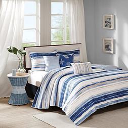 Madison Park Marina King/Cal King Size Quilt Bedding Set - B