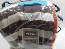 Mi-Zone Ashton Full/Queen Kids Bedding Sets for Boys - Orang