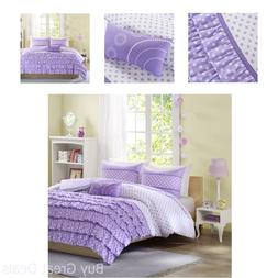 Mi-Zone Morgan Comforter Set Twin/Twin Xl Size - Purple, Pol