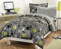 My Room Extreme Skateboarding Boys Comforter Set With 180Tc