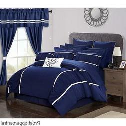 New Chic Home Mayan Complete Bedroom 24 Pc Comforter Set - N