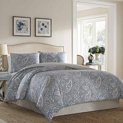 Stone Cottage Cotton Sateen Comforter Set, King, Lancaster