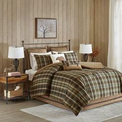 Woolrich Hadley Plaid Comforter Set, Queen, Multi