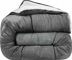 Utopia Bedding - All Season Alternative Fleece Comforter - G