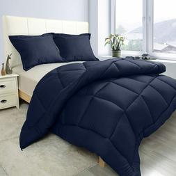 2 Piece Comforter Set 1 Pillow Sham Down Alternative Comfort