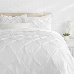 Luxurious Pinch Pleat Comforter Set All Season Pintuck Ultra