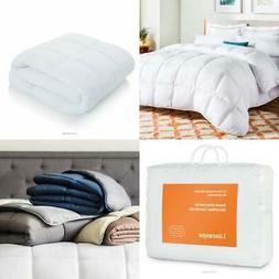 LINENSPA All Season White Down Alternative Quilted Comforter