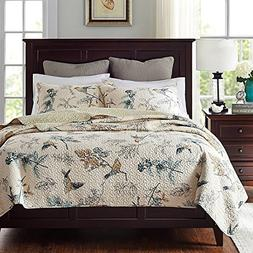 Brandream American Country Comforter Sets, Birds Printing Qu