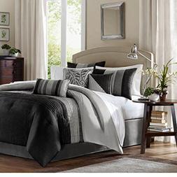 Amherst Black/Grey Madison Park Elegant Stylish Premium Qual