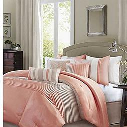 Madison Park Amherst Elegant Stylish Premium Quality Coral,